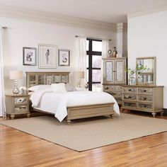 King Bedroom Furniture Sets Bedroom Sets   Bedroom Furniture   Furniture   Decor   The Home Depot