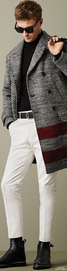 Bally Fall 2015 | Menswear | Men's Fashion | Smart Casual Outfit | Moda Masculina | Shop at designerclothingfans.com