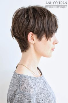 Mister AnhCoTran - LA: FROM SHORT TO LONG. A HUGE TRANSFORMATION AT RAMIREZ|TRAN SALON! 3/15/14 Looks like a nice option for restyling my mop of overgrown pixie