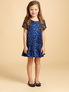 Juicy Couture - Toddler's & Little Girl's Cheetah-Print Dress