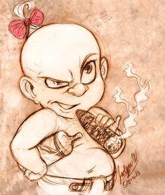 Baby Herman by MistyTang.deviantart.com on @deviantART