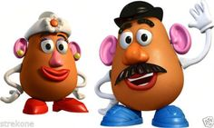 *MRS. & MR. POTATO HEAD ~ Toy Story 3