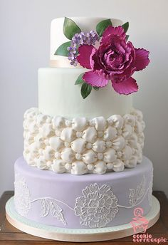 Pretty.. wedding cake