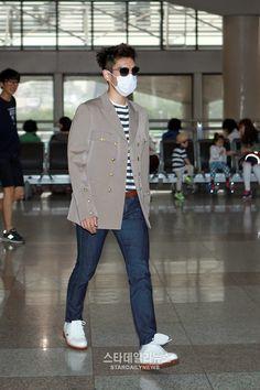 bigbang-jeju_010 Vip Bigbang, Daesung, Kpop Fashion, Airport Fashion, Mens Fashion, Top Choi Seung Hyun, Best Kpop, Airport Style, Top Photo