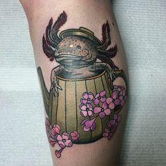 12 Unusual Axolotl Tattoos