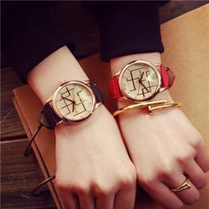 >> Click to Buy << Vintage Watch Mens Women Couple Gift Lovers Wrist Watches Men Fashion Retro Leather Strap Watch Hours Women's Dress Clock Reloj #Affiliate