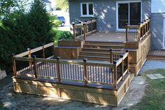 Patio Deck-Art Designs® NEW 2013 - traditional - patio - montreal - Patio Deck-Art Designs