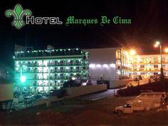 Vista nocturna Hotel Marques De Cima 2013