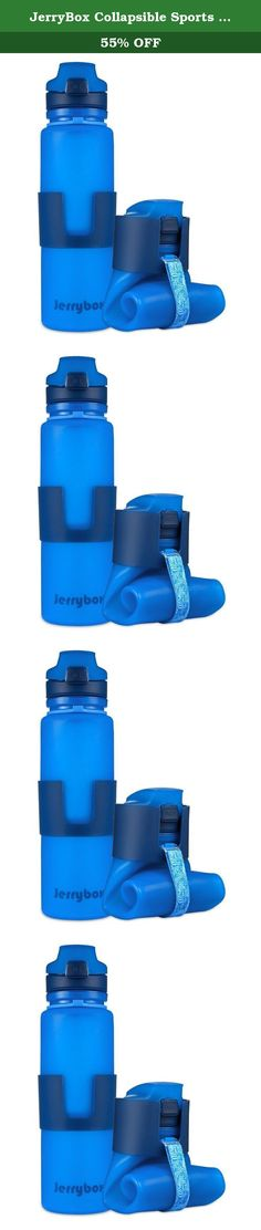 JerryBox Collapsible Sports Water Bottle - 650ml, Leak Proof Silicone Foldable Sports Bottle, for Outdoors, Travel, Camping, Picnic(22 oz) (Blue). Find Your Love with Jerrybox Durable, versatile and stylish, the Jerrybox Collapsible Sports Bottle is your ultimate hydration companion. Enjoy a healthy and active lifestyle with your reusable sports bottle. Built to Go with You Anywhere This lightweight collapsible water bottle can be rolled up to 1/3 of its upright size when empty. It fits…