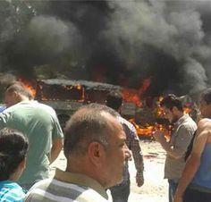 Preste de 50 decedes por un pompedee rusian in Siria
