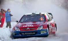 Colin McRae in the 2003 Citroen Xsara WRC at WRC Sweden Picture #1