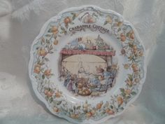 Crabapple Cottage plate, Brambly Hedge by Royal Doulton