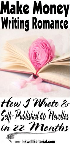 How I Wrote & Self-Published 40 Romance Novels in 22 Months #Selfpublishing #Romance #WritingTips