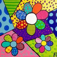 Drawing For Kids, Art For Kids, Arte Popular, Art Plastique, Rock Art, Doodle Art, Diy Art, Art Lessons, Painted Rocks