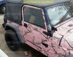 Realtree Camo jeep!