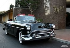 The famous 1954 Oldsmobile Rocket 88!