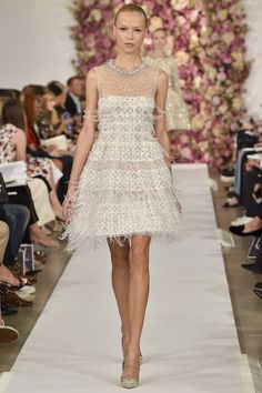 Oscar de la Renta spring 2015 collection