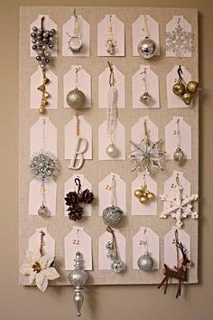 Advent Calendar - each day an ornament for the tree!