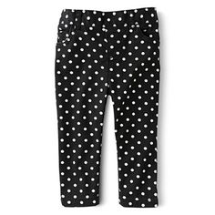 Joe Fresh™ Printed Sateen Pants - Girls 3m-24m - jcpenney