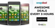 Snapdeal Mobile Mania Offer: Shop and Save Big on Mobiles,Tablets. Offer is only till 8pm today. Grab Now!  ‪#‎Snapdeal‬ ‪#‎MobileOffers‬ ‪#‎GrabOn‬