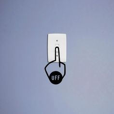 OFF. #switch #an electric switch