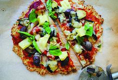 Low-carb tropical pizza with cauliflower crust recipe - 9kitchen