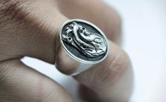 70 Cool Rings For Men That Are Incredibly Unique Discover an impressive selection of cool rings for men that are unique & creative, We have compiled the ultimate list of cool rings for guys! Check it Out! Cool Rings For Men, Unique Rings, Men Rings, Silver Rings, Awesome Stuff, Creative, Guys, Jewelry, Check