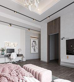 Luxury Bedroom Design, Room Design Bedroom, Girl Bedroom Designs, Small Room Bedroom, Home Room Design, Home Decor Bedroom, Home Interior Design, Rich Girl Bedroom, Comfy Bedroom