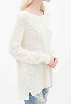 Textured Knit Sweater   FOREVER21 - 2000134657