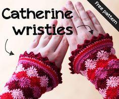 Free pattern for Catherine wristies on Haakmaarraak!