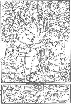 English Activities, Preschool Activities, Ivan Cruz, Hidden Pictures Printables, Highlights Hidden Pictures, Hidden Picture Puzzles, Coloring Books, Coloring Pages, Kids Connection