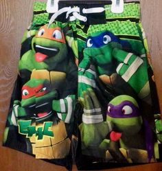 Teenage Mutant Ninja Turtles Swim Trunks Shorts Boy's Swimtrunks for sale online Turtle Swimming, Boys Swim Trunks, Teenage Mutant Ninja Turtles, Swim Shorts, Baby, Swim Trunks, Baby Humor, Infant, Babies