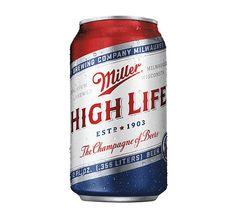Miller High Life: Red, White, & Blue by Landor San Francisco.