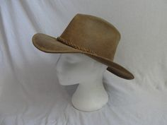 Tan Suede Minnetonka Leather Outback Cowboy by TheThriftyBuddah, $18.00