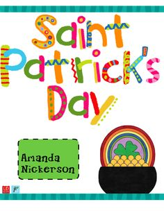 Saint Patrick's Day Fun! | One Extra Degree