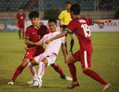 Indonesia Gilas Myanmar di Laga Pembuka Piala AFF U-18