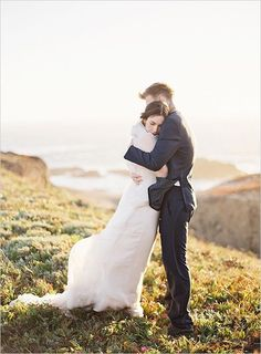 Wedding Photography Ideas : Rustic Romance With Ocean Views