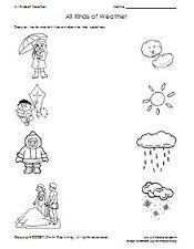 Résultats de recherche d'images pour « english activity match weather and clothes »