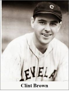 Clinton Harold Brown (July 8, 1903 – December 31, 1955) was a professional baseball player from Black Ash, near Guys Mills. He was a right-handed pitcher over parts of fifteen seasons (1928–1942) with the Cleveland Indians and Chicago White Sox. For his career, he compiled an 89–93 record in 434 appearances, mostly as a relief pitcher, with a 4.26 earned run average and 410 strikeouts. Baseball Players, Baseball Cards, Crawford County, Chicago White Sox, Cleveland Indians, Ash, Career, December, Seasons