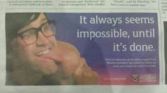 Omg Link was in a newspaper