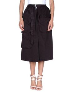 DRIES VAN NOTEN 3/4 Length Skirt. #driesvannoten #cloth #dress #top #skirt #pant #coat #jacket #jecket #beachwear #