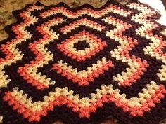 Drop in a pond crochet