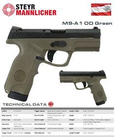 Steyr Mannlicher - M9-A1 OD Green
