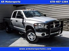 Cars for Sale: Used 2008 Dodge Ram 2500 Truck in 4x4 Quad Cab, Lawrenceville GA…