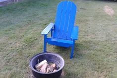 Picture of Adirondack Style Chair (pallet Wood)