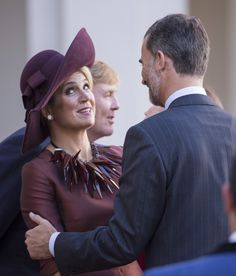 Maxima with King Filipe of Spain