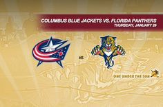 Columbus Blue Jackets vs. Florida Panthers