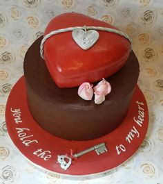hold the key to my heart- theme - Cake by TnK Caketory