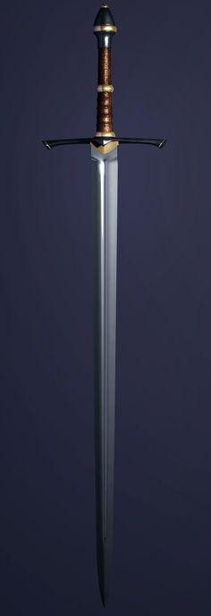 Longsword by blackhearted
