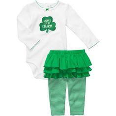 Carter's® 2-pc. St. Patrick's Day Legging Set - Girls newborn-12m - jcpenney